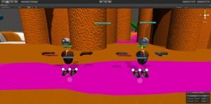 Unity Engine game scene