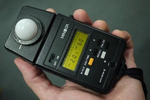 A Minolta branded Light Meter.