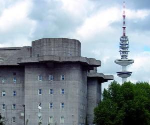 Der Medienbunker am Heiligengeistfeld