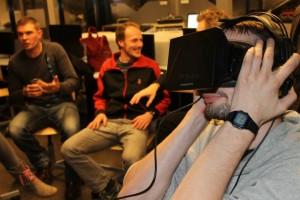Oculus rift at SAE