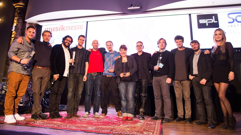 the winners and presenters