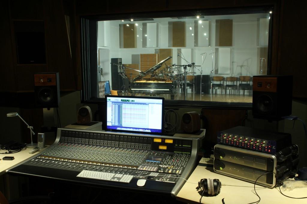 """Studio-Setup für """"The Gentleman"""""""