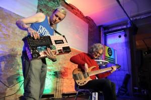 Adam John Williams and Steve Lawson Perform on stage at MTF Berlin