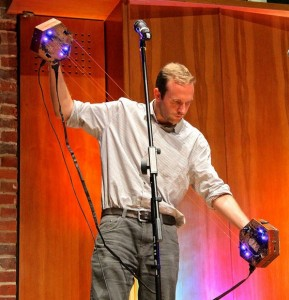 """Hew Jones and his """"Concertronica"""" at MTF London"""