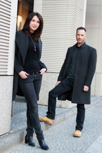 Ewa und Benjamin Gillen. - Photography by Alexander Hausdorf