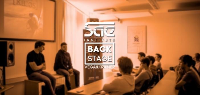 Workshop mit Vega & Krämer am SAE Institute Frankfurt