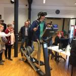 SAE Institute Köln: VR-Stepper
