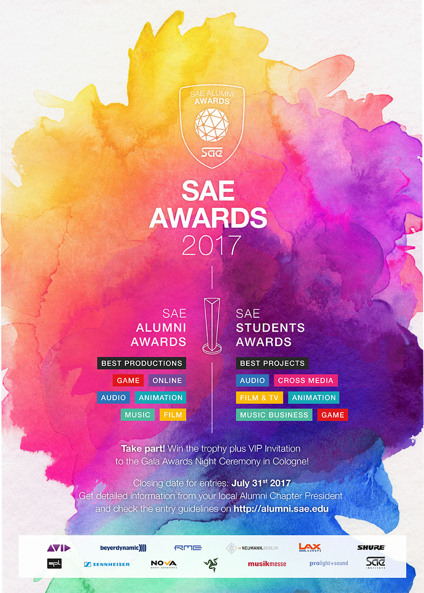 Poster design contest 2017 - 2017 Marks The 12th Anniversary Of The Sae Awards Our Acclaimed Creative Media Competition Present Your Projects To The Public And Receive The Recognition