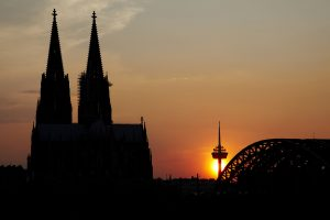 Kölner Dom im Sonnenuntergang © Dieter Jacobi/Köln Tourismus GmbH