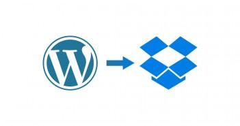 WordPress Backup in die Drobpox