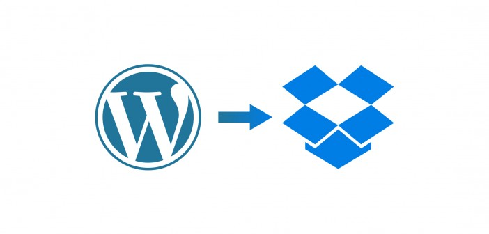 WordPress Backup in die Drobpox