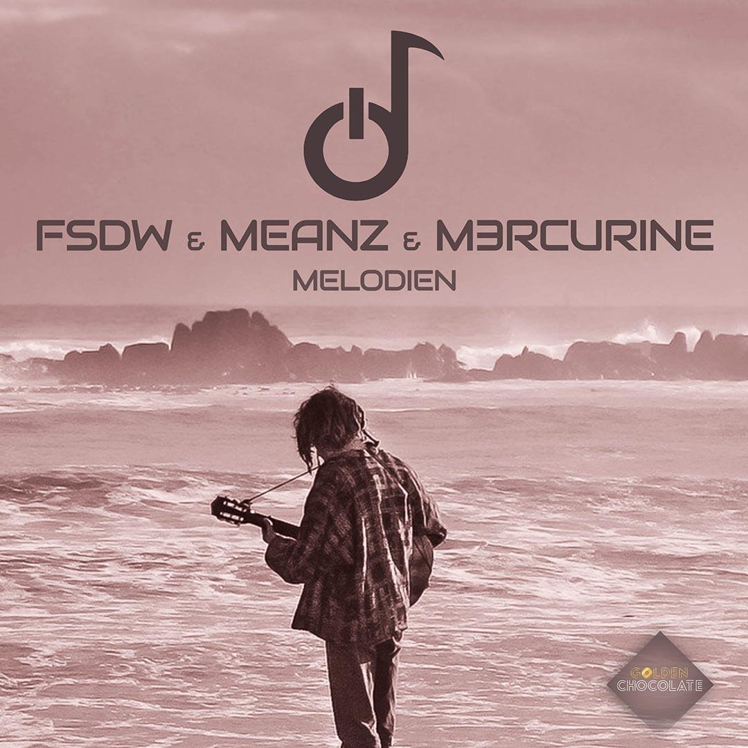 """Artwork """"Melodien"""" von FSDW, Meanz und M3RCURINE; Golden Chocolate Label"""