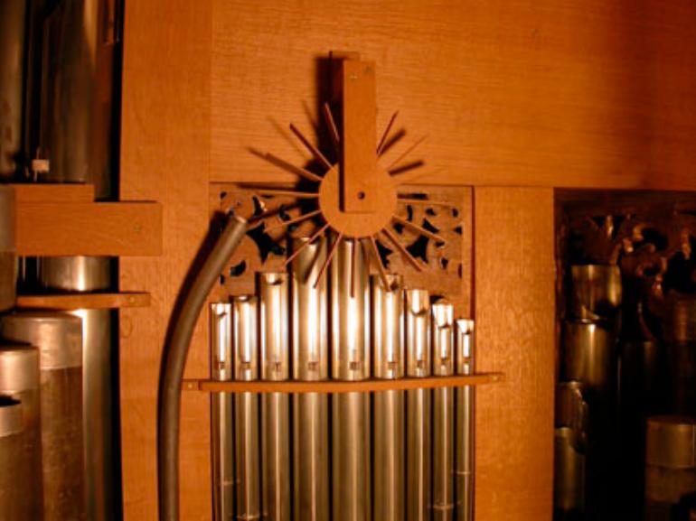 Abbildung 04 - Cymbelstern der Arp-Schnitger-Orgel