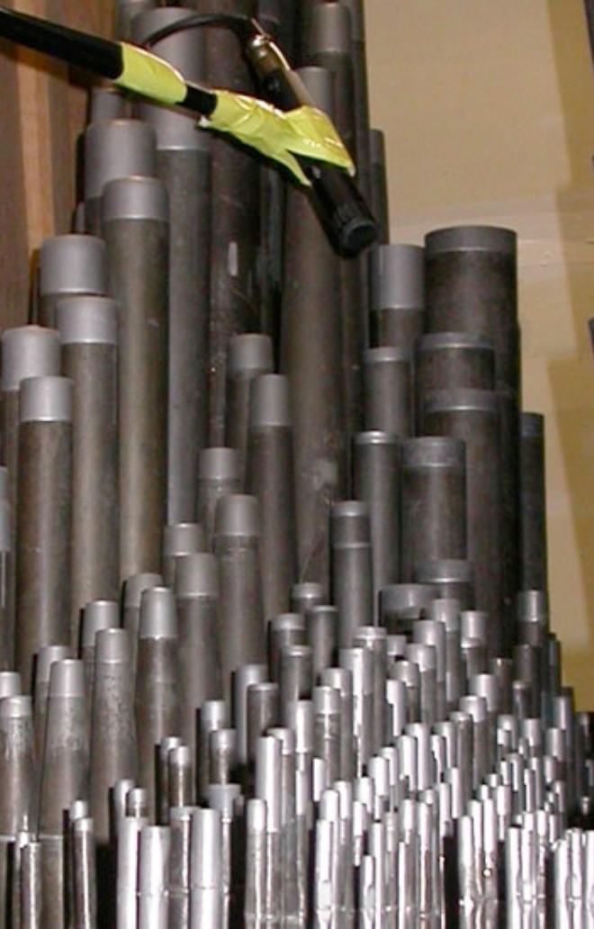 Abbildung 05 - Orgelpfeifenmixturen und das Direktmikrofon