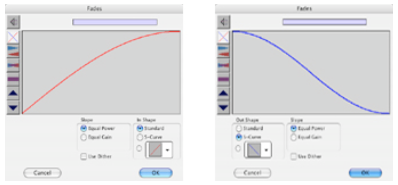 "Abbildung 18 - Screenshot mit Pro Tools-Dialog ""Batchfades"""