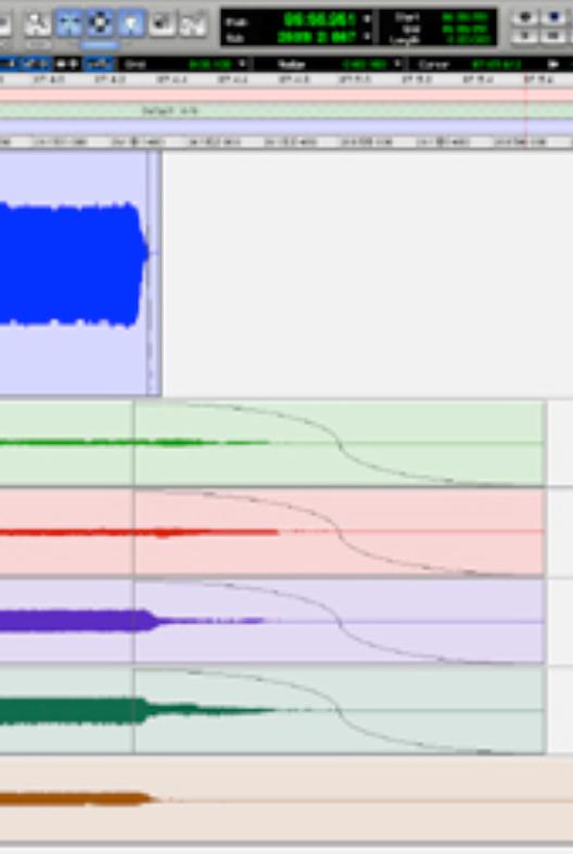 Abbildung 20 - Screenshot von Nachhallzeit der Raummikrofonspuren