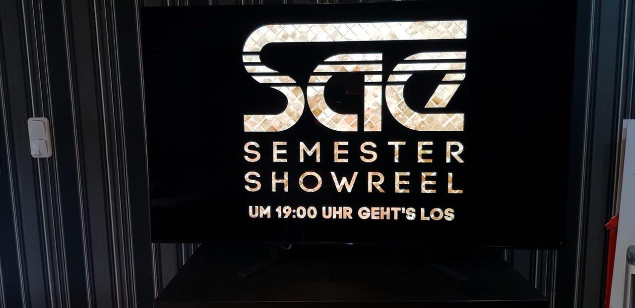 Das Frankfurter Semestershowreel Lifestream Event steht