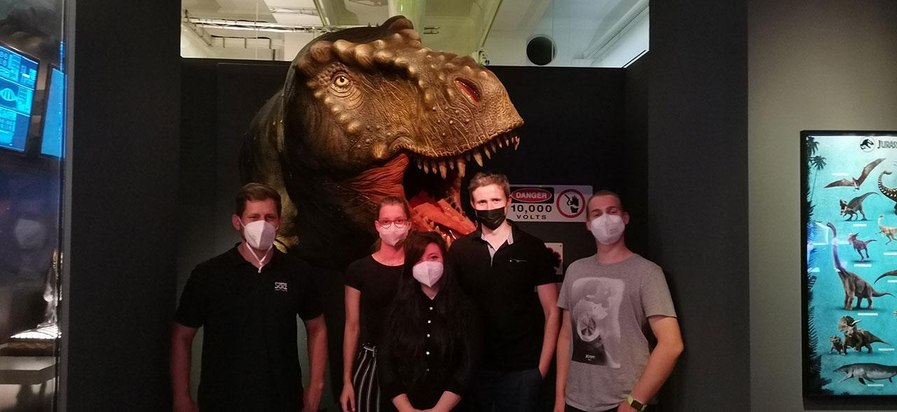Wie Dinosaurier ins Kino kommen. Digital Film Production im Landesmuseum Hannover