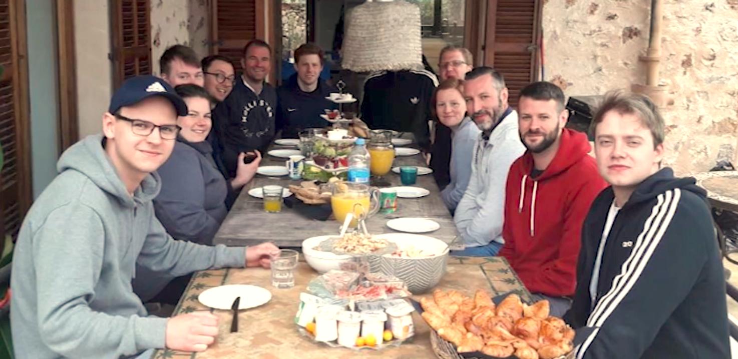 Das junge Team des CSC Studios
